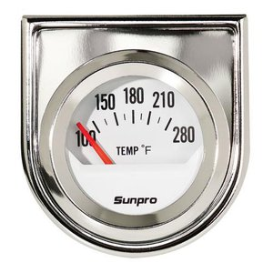 FOR TRADE] - White Sunpro Gauges and Tach for Black   For A