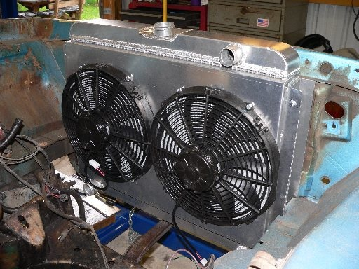 26 inch radiator in a duster? | For A Bodies Only Mopar Forum