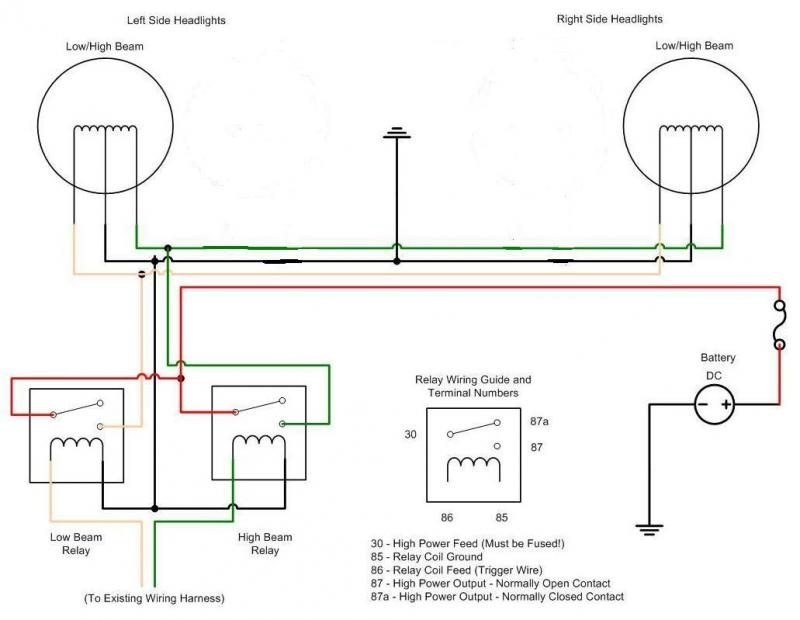 headlight relays | For A Bos Only Mopar Forum on