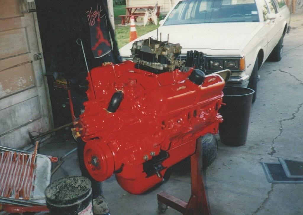 Dart engine  on stand.jpg