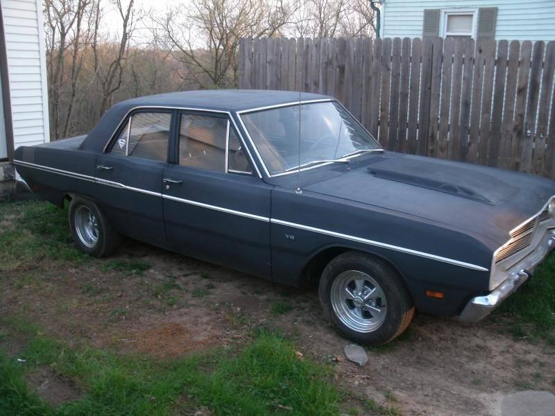 1969 Dodge Dart Custom 4 Door For A Bodies Only Mopar Forum