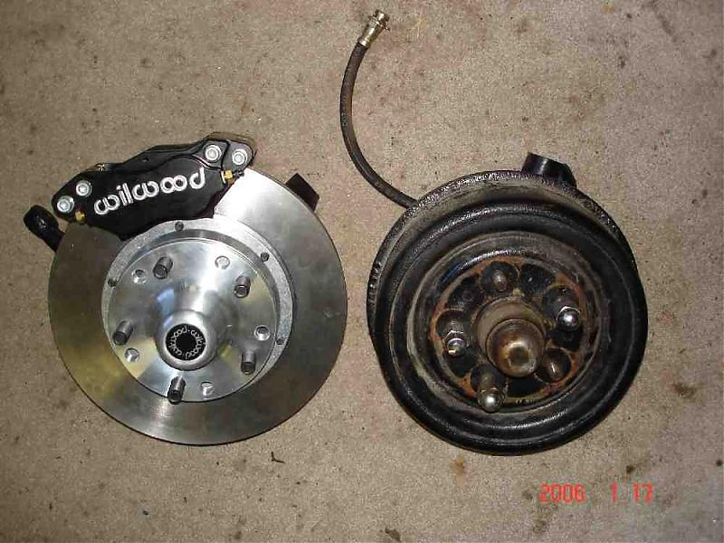 wilwood drum to disc brake conversion | For A Bodies Only Mopar Forum