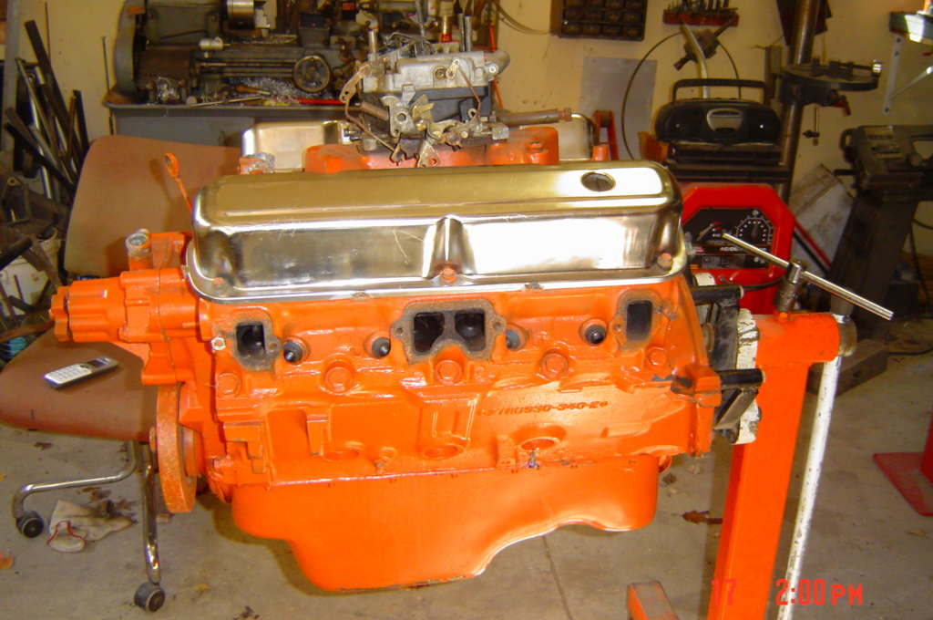 mopar 340 engine block