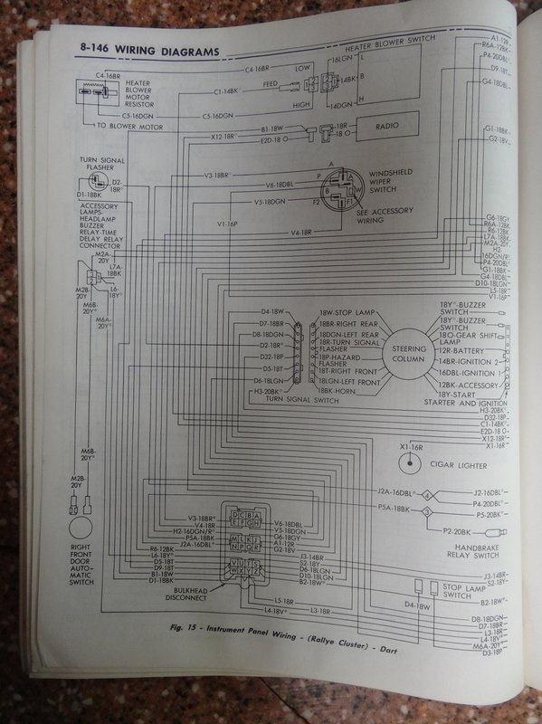 1971 Dodge Chassis Service Manual Wire Diagrams For A Bodies Only Mopar Forum