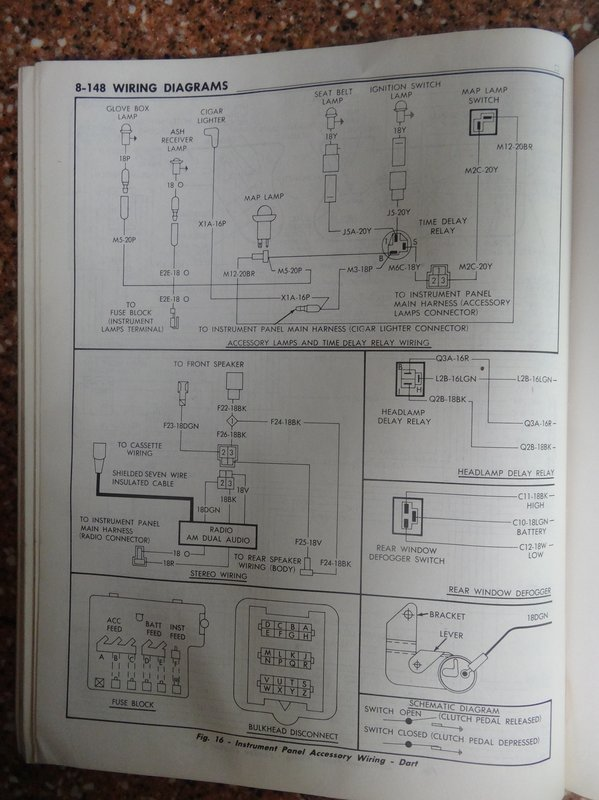 1971 dodge chassis service manual (wire diagrams) for a bodies 1971 dodge dart swinger wiring diagram at gsmportal.co