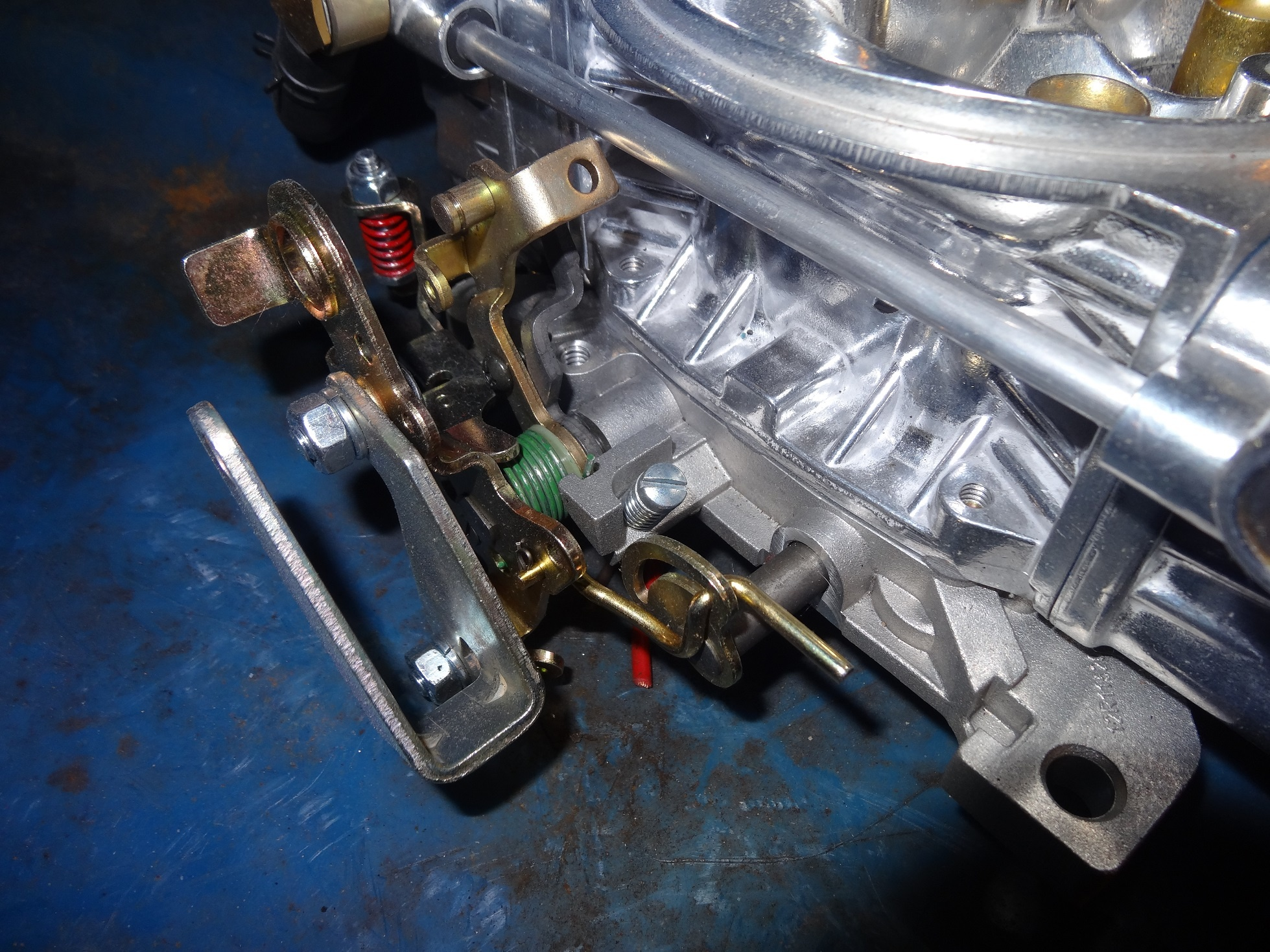 Holley Throttle Linkage For A Bodies Only Mopar Forum