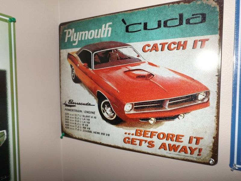 Man Cave Signs At Hobby Lobby : Hobby lobby sale on tin signs for a bodies only mopar forum
