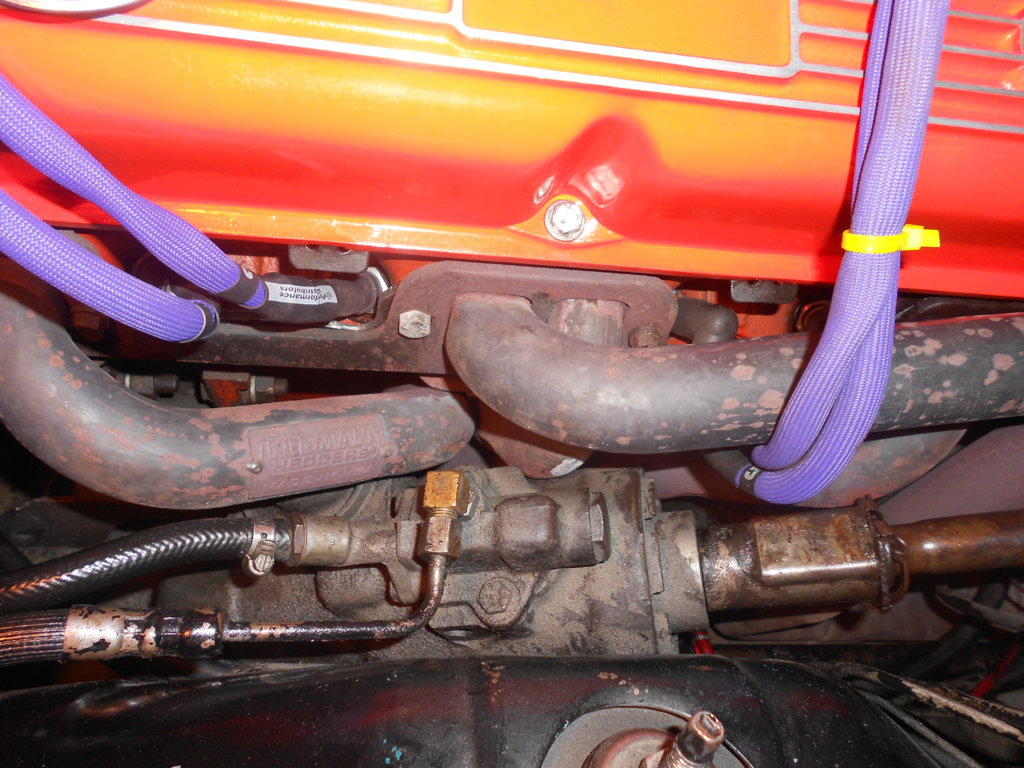 Header Power Steering Box S For A Bodies Only Mopar Forum