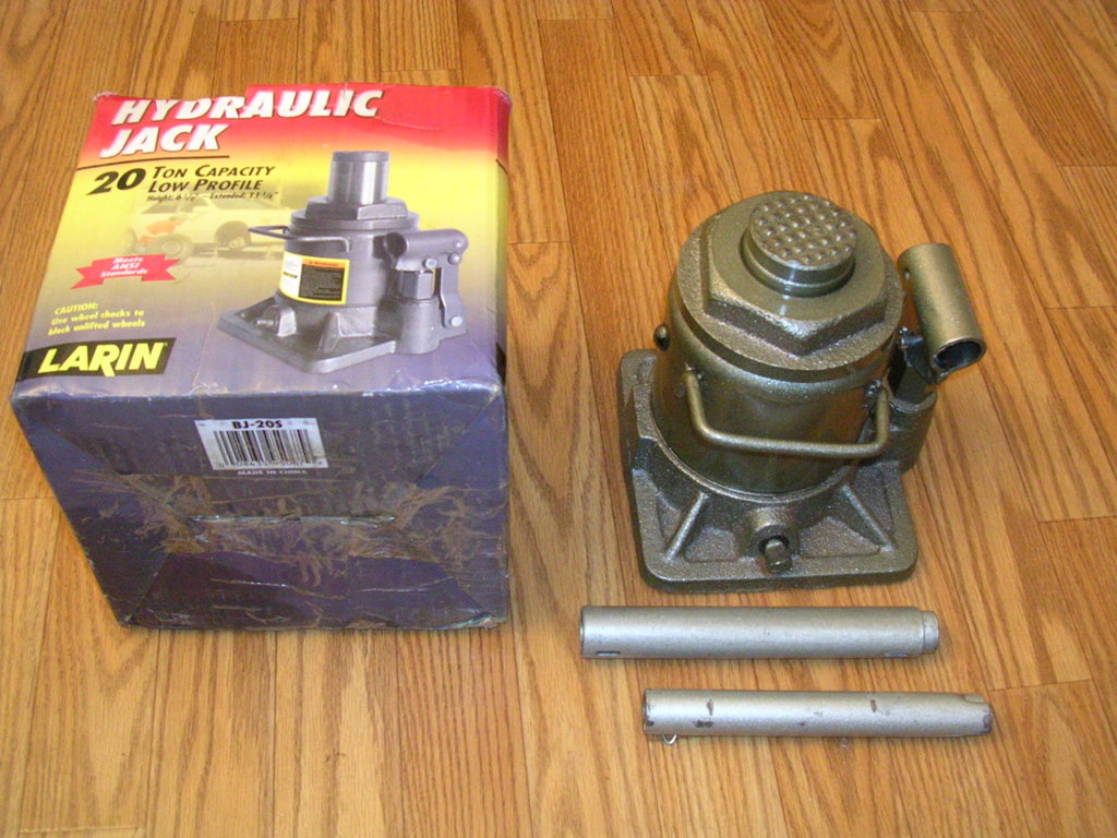 SOLD] - Larin 20 ton, low profile bottle jack | For A Bodies