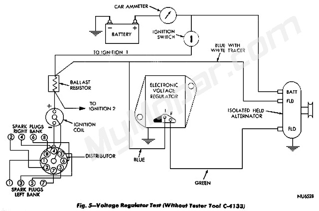 dodge dakota wiring diagram internal regulator alternator alternator wiring | for a bodies only mopar forum
