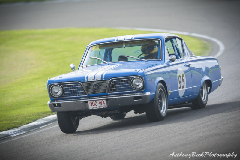 Duncan Pittaway and Justin Bell - 1965 4414cc Plymouth Barracuda.jpg