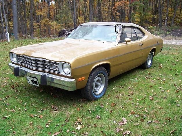 picked up a 73 duster sunroof car and made it into a 71 for a bodies only mopar forum. Black Bedroom Furniture Sets. Home Design Ideas