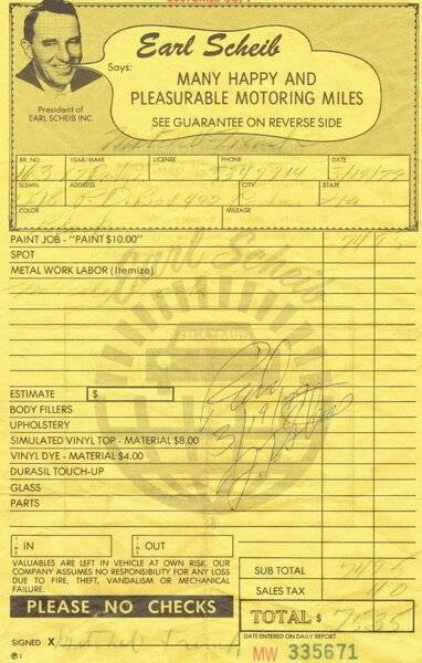 Earl Scheib receipt.JPG