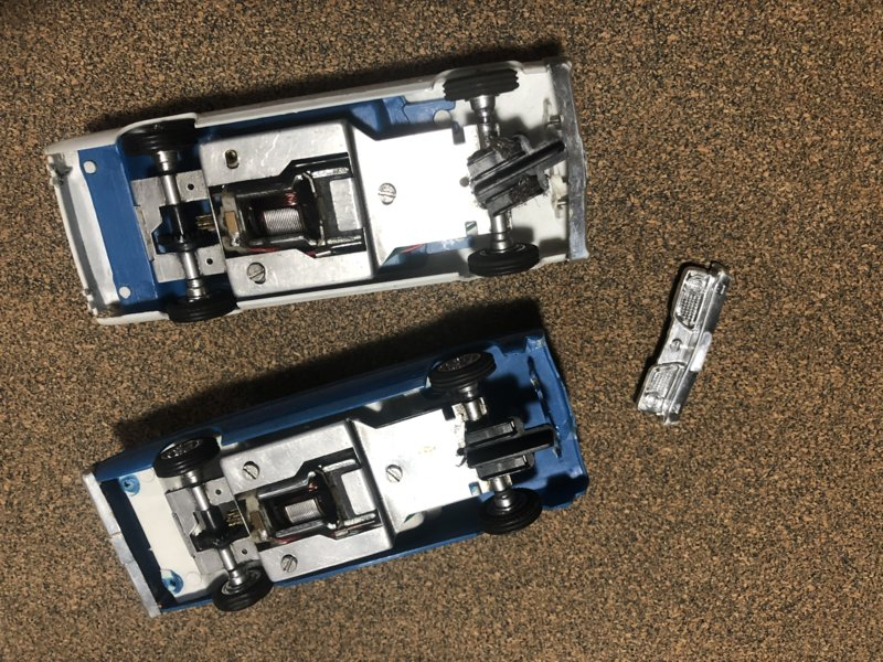 SOLD] - Vintage '66 Barracuda Slot Cars 1/32 scale | For A