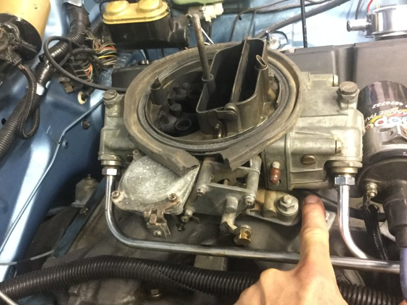 68 383 with 750 carb  Runs rich | For A Bodies Only Mopar Forum