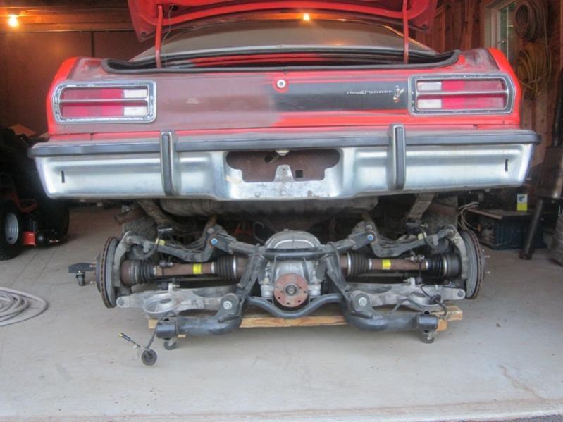 Independent Rear Suspension | For A Bodies Only Mopar Forum