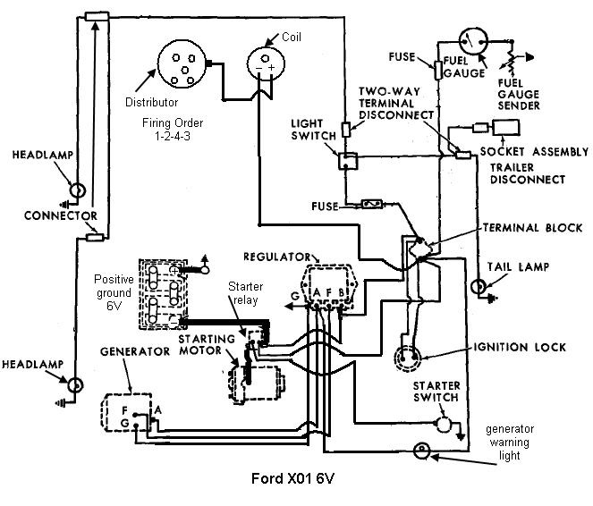 1958 ford 861 tractor for a bodies only mopar forum positive ground wiring diagram at gsmx.co