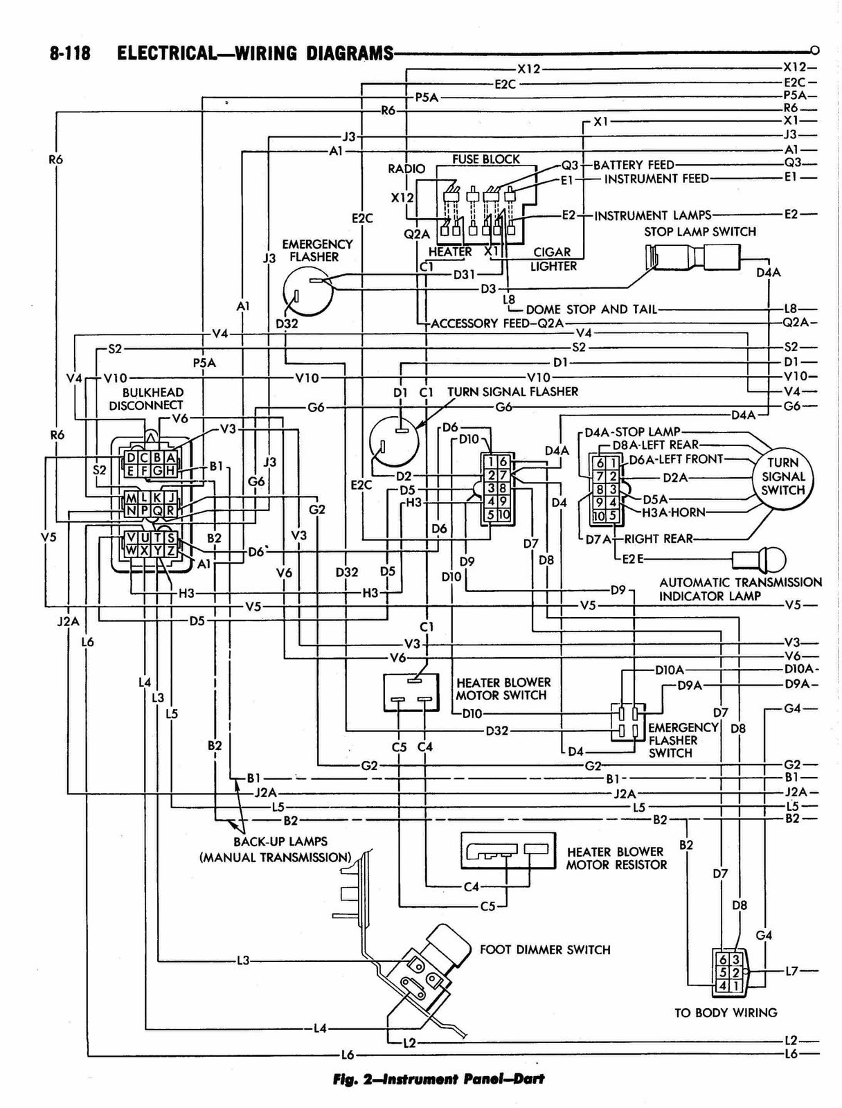 1967 dart wiring diagrams