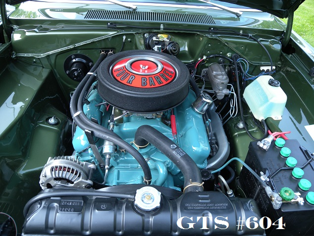 mopar 340 engine color