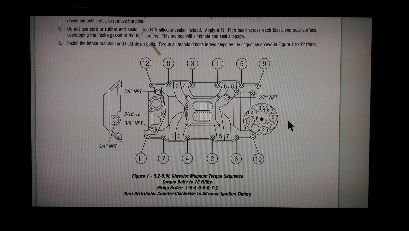 Diy Magnum Swap For A Bodies Only Mopar Forum 3 8 Chrysler Engine Motor Mount Diagram Imag0211