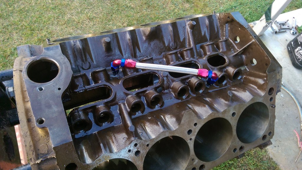 lifter galley crossover tube   For A Bodies Only Mopar Forum