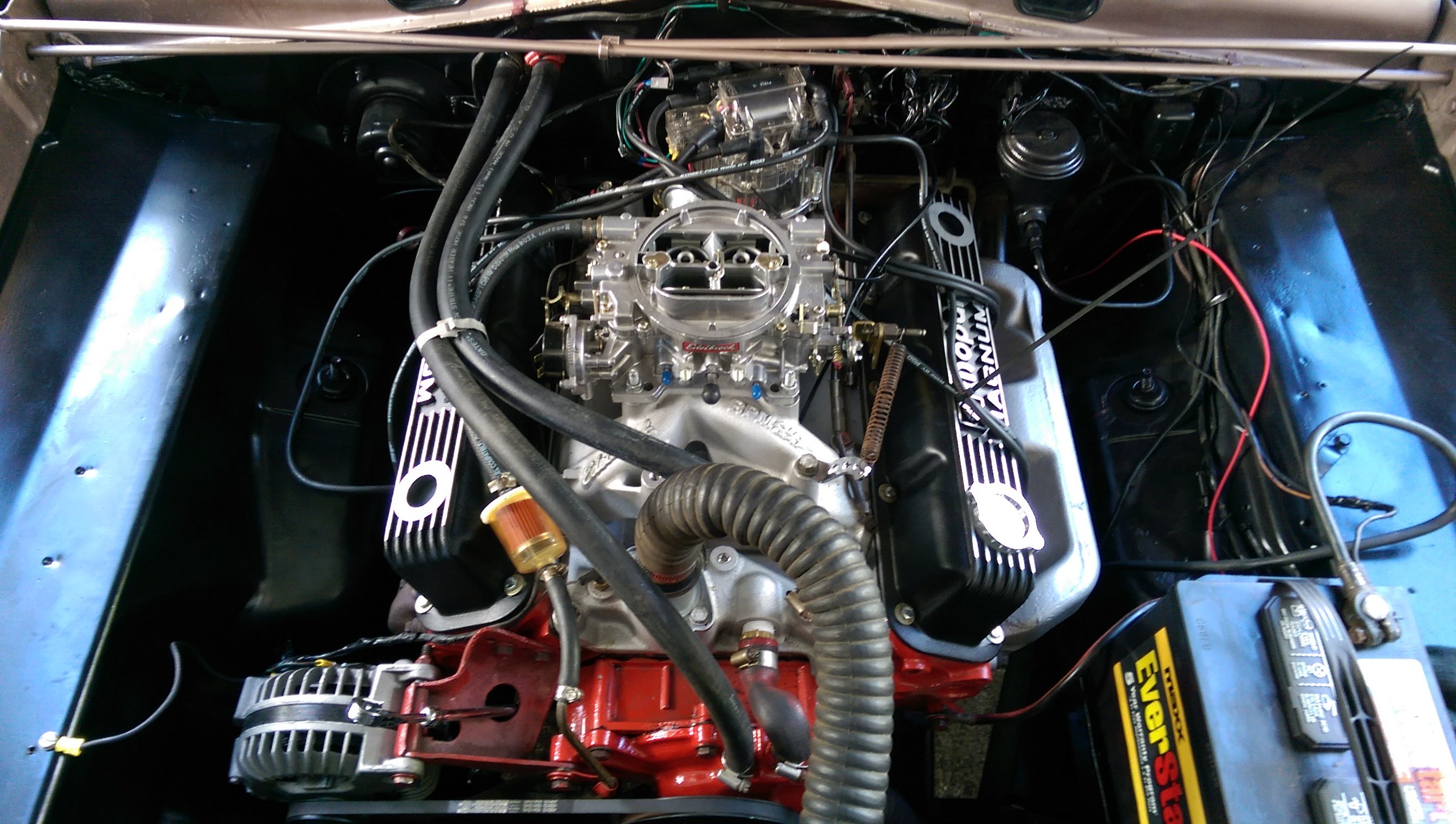 1965 Plymouth Barracuda 318 Magnum V8 For A Bodies Only Mopar Forum Dodge 5 9 Engine Swap Imag3567