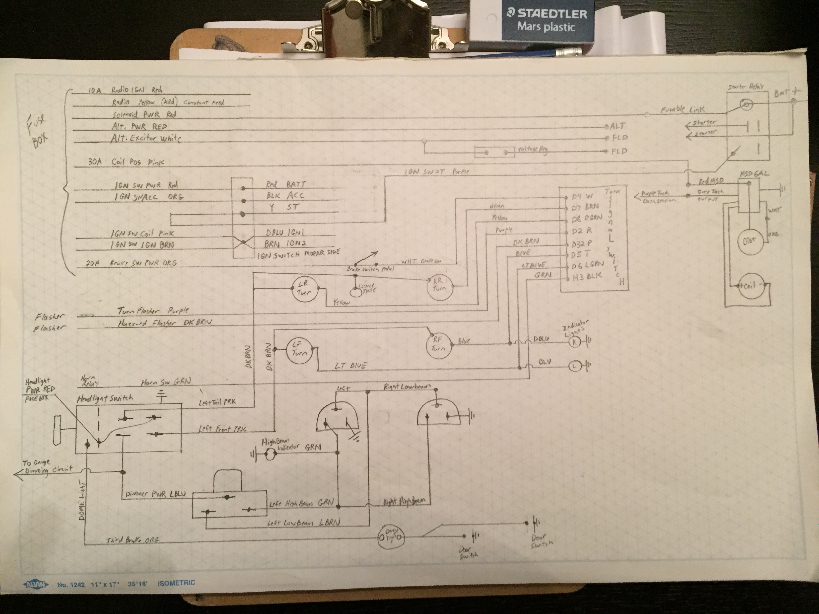 Ez Wiring Fuse Box Trusted Diagrams Wire Ignition Question For A Bodies Only Mopar Forum House Diagram