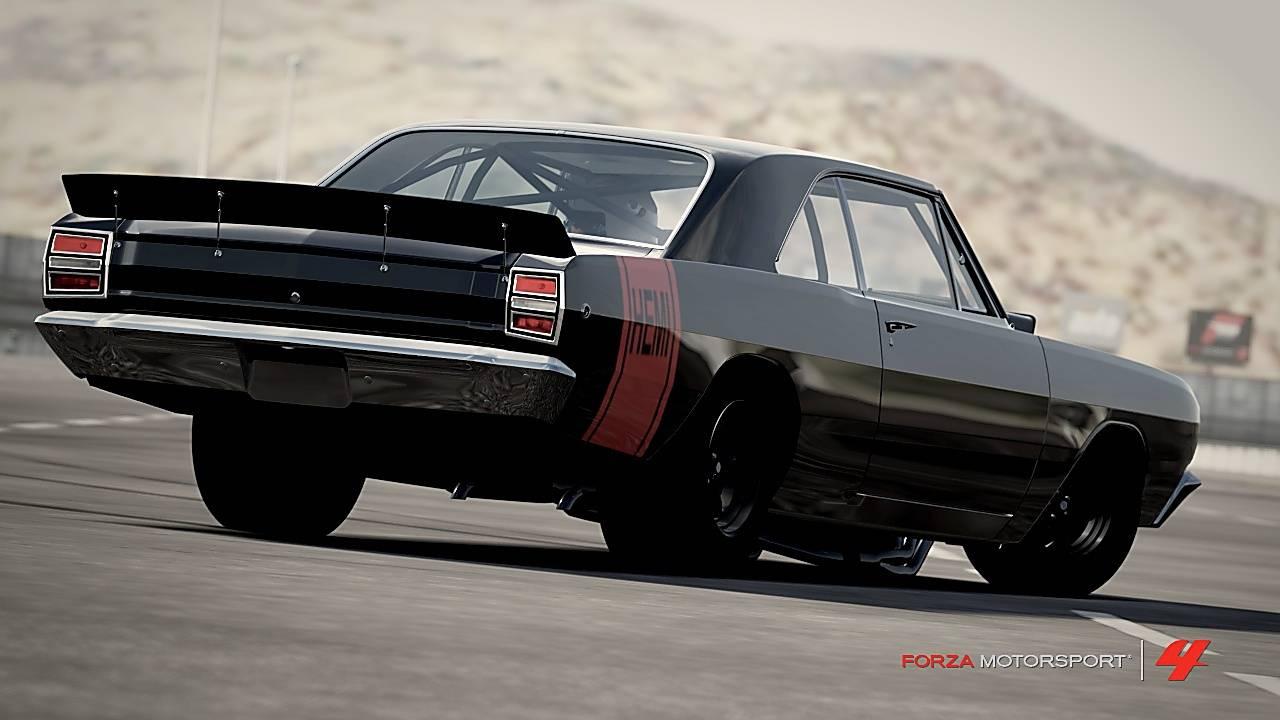 Dodge Dart Nascar >> 67 69 Dodge Dart Rear Decklid Spoiler Nascar Style Metal For A