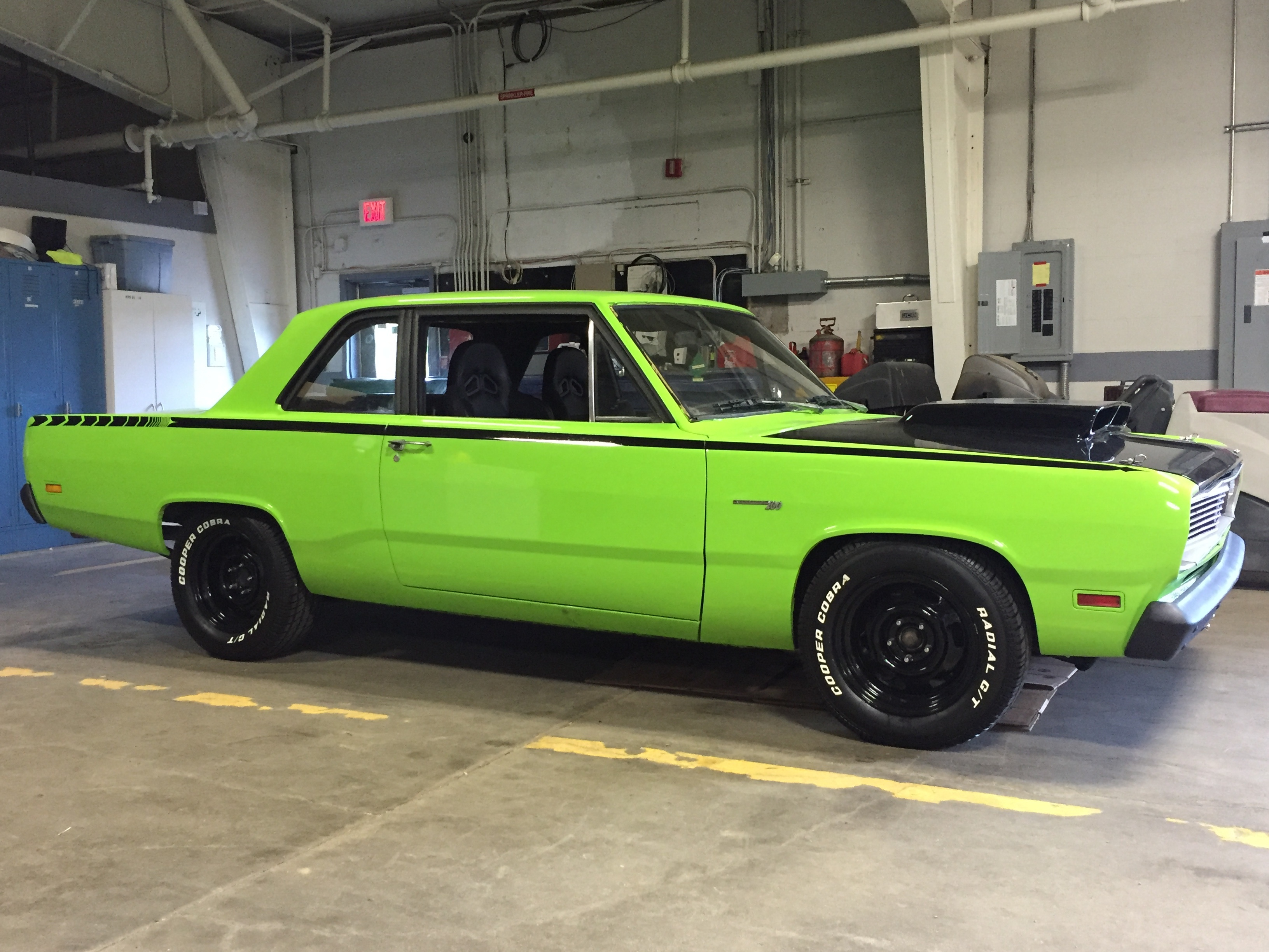Is this cuda in sassy grass green? | For A Bodies Only Mopar