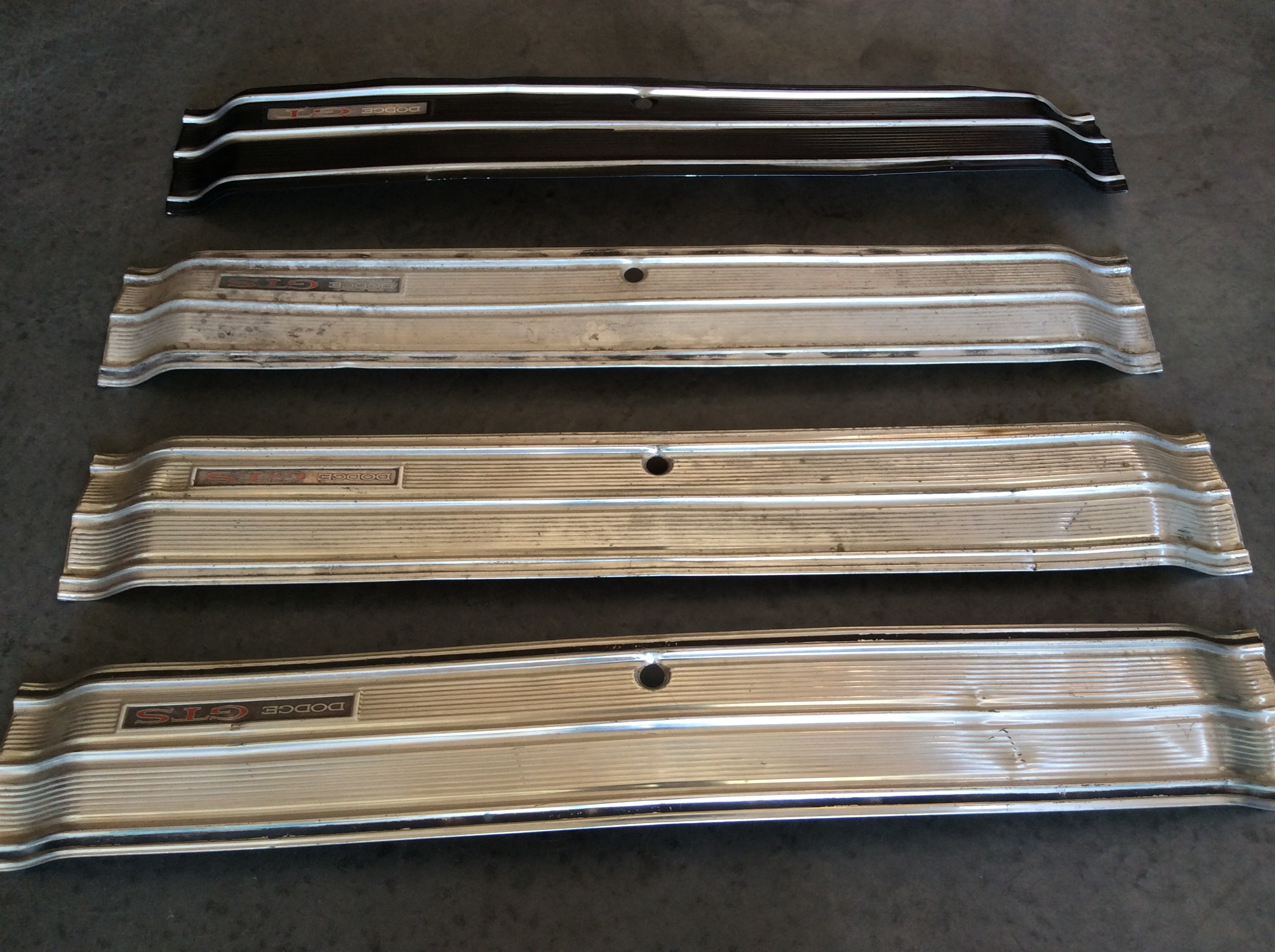 Wanted 1969 Dodge Dart Gt Gts Trunk Finish Tail Panel