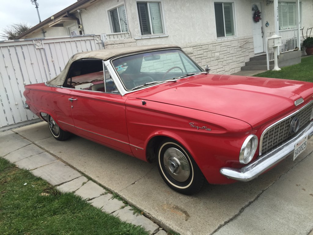 for sale 1963 plymouth valiant convertible for a bodies only mopar forum. Black Bedroom Furniture Sets. Home Design Ideas