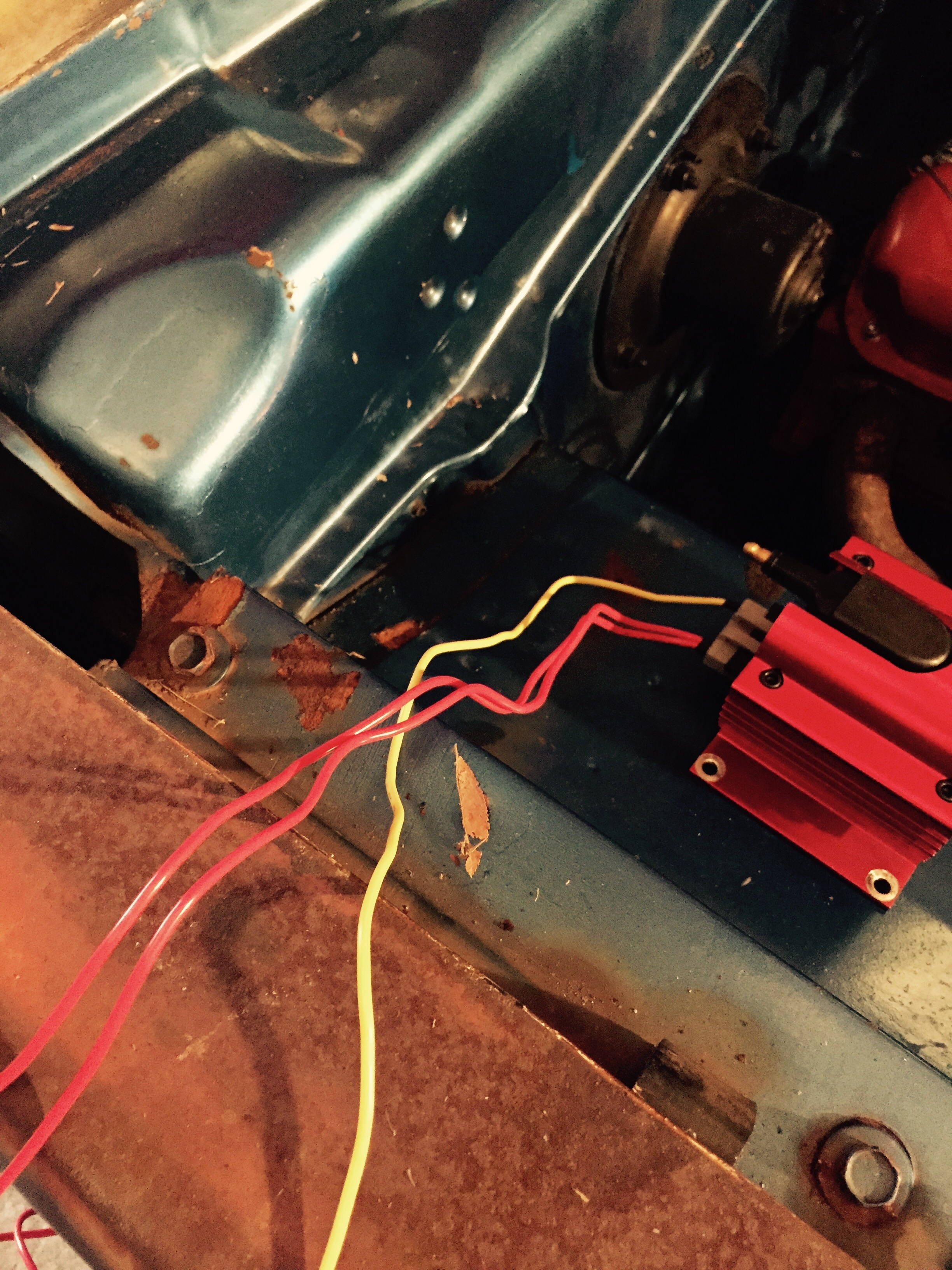 Hei Conversion Help Page 2 For A Bodies Only Mopar Forum Wiring In Gm Image