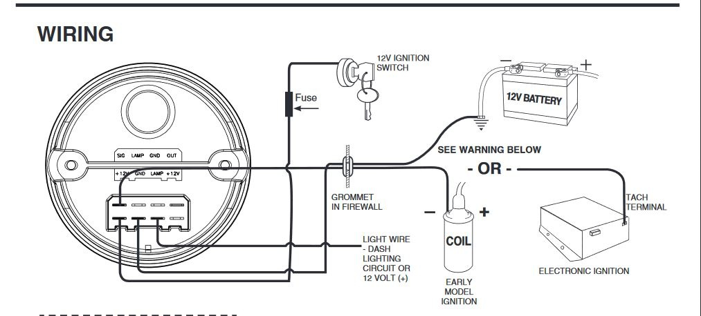 Tach Wiring Diagram For Auto Meter 4497 Rh 56 Ala Archa2018 Uk