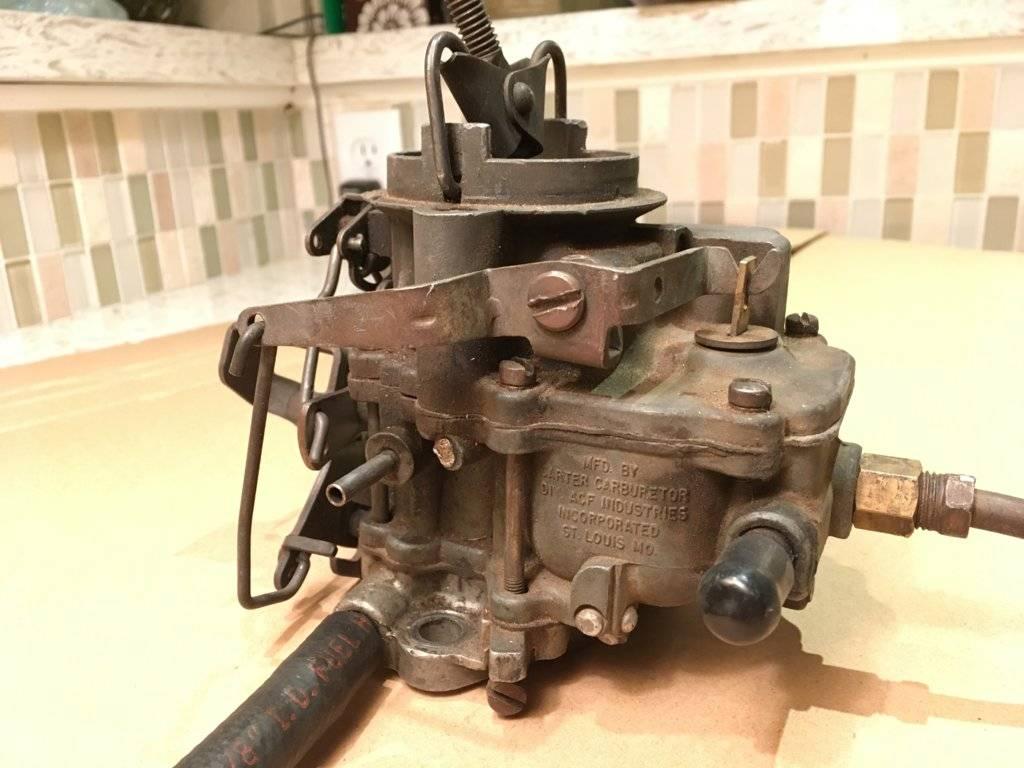 Carter/Ball carburetor- Help ID | For A Bodies Only Mopar Forum