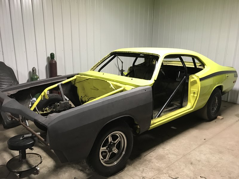 FOR SALE] - Dodge Dart Fiberglass Front End | For A Bodies
