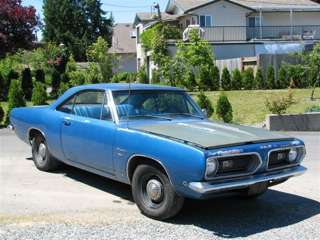 1968 Barracuda Notchback For Sale For A Bodies Only