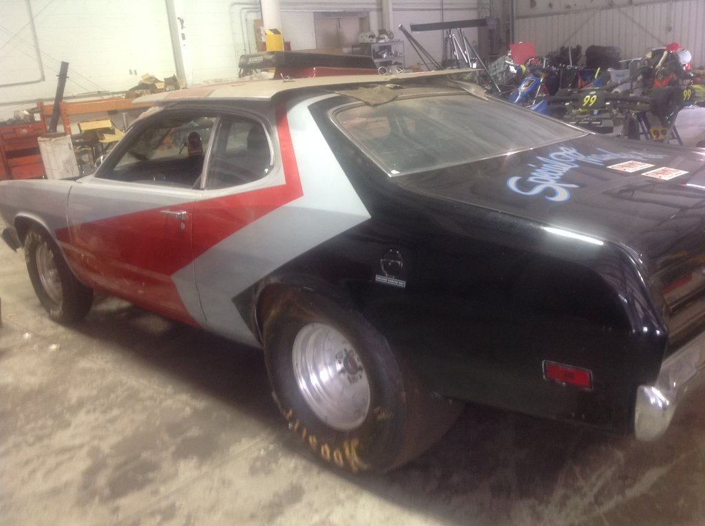 FOR SALE] - 70 Duster race car roller- $7500 Hamilton, Ohio | For A ...