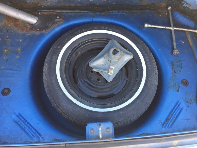 Dodge Dart Spare Tire Location