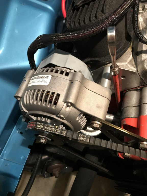 Upgraded alternator with eddy heads | For A Bodies Only Mopar Forum