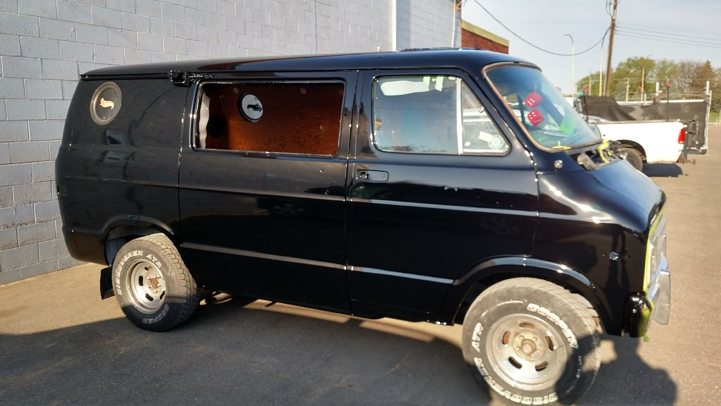 Got Me A 1978 Dodge Street Van To Pimp Out Page 2 For