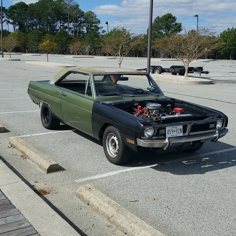 for sale 1970 dart swinger baltimore 12500 obo for a bodies only mopar forum. Black Bedroom Furniture Sets. Home Design Ideas