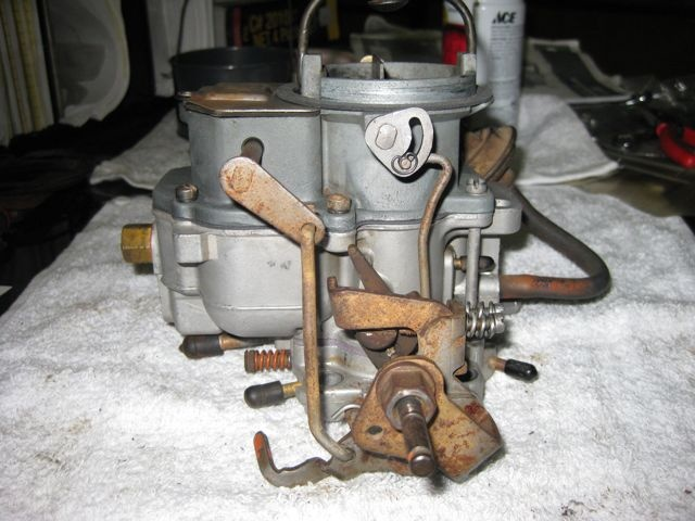 my first carb rebuild, done, but adjustment question | For A