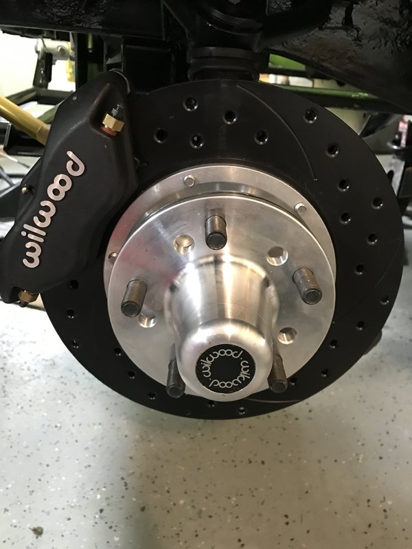 SOLD] - Wilwood Front Disc Brakes | For A Bodies Only Mopar