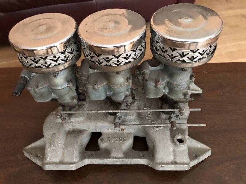 FOR SALE] - 383 400 Edelbrock DP 390 Six Pack intake | For A