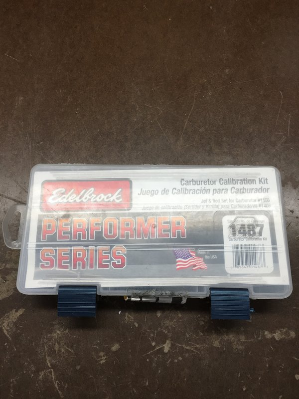 SOLD] - Edelbrock Carb Tuning Kit | For A Bodies Only Mopar