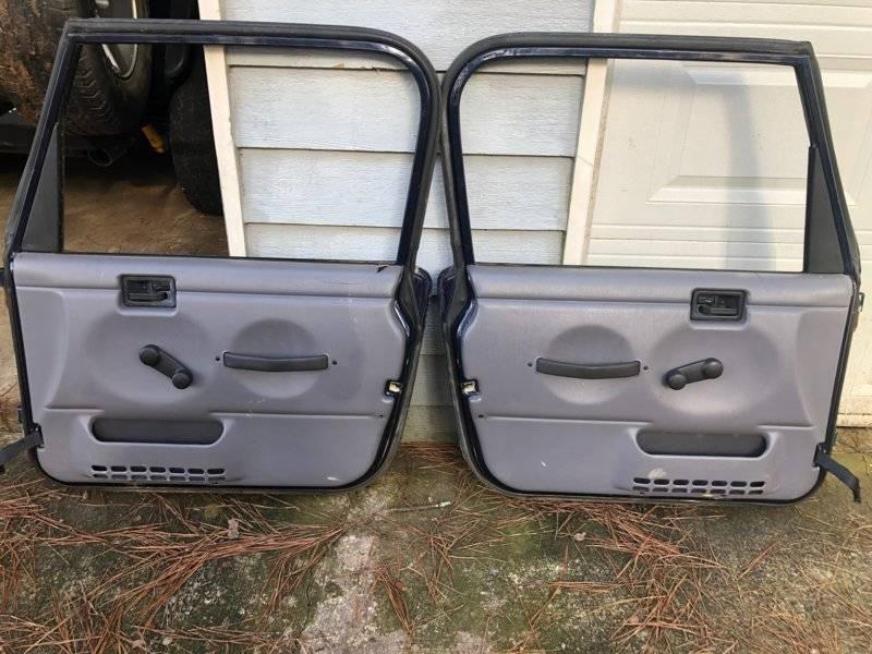For Sale Jeep Wrangler Tj Full Doors Patriot Blue For A Bodies Only Mopar Forum