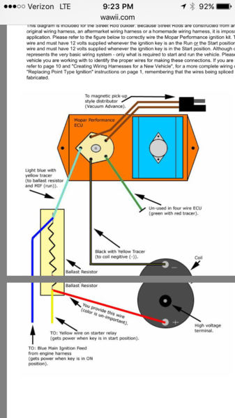 Mopar Ignition Coil Ballast Resistor Wiring Diagram from www.forabodiesonly.com