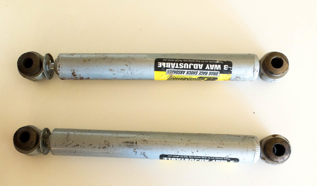SOLD] - Two Competition Engineering 3 way rear Shocks   For