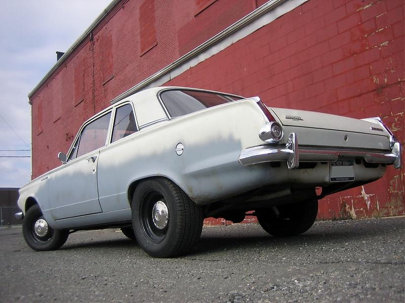 1965 Plymouth Valiant 100 2 Door Post For A Bodies Only