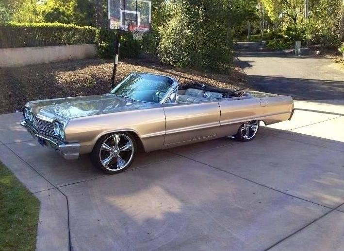 for sale 1964 chevrolet impala convertible for a bodies only mopar forum. Black Bedroom Furniture Sets. Home Design Ideas